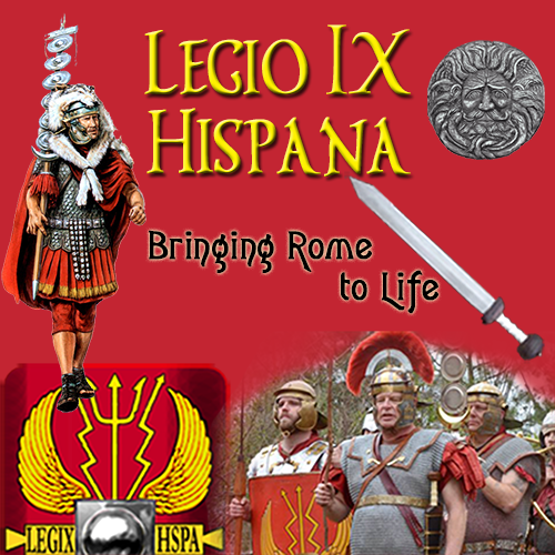 The Legio IX Hispana site mobile banner